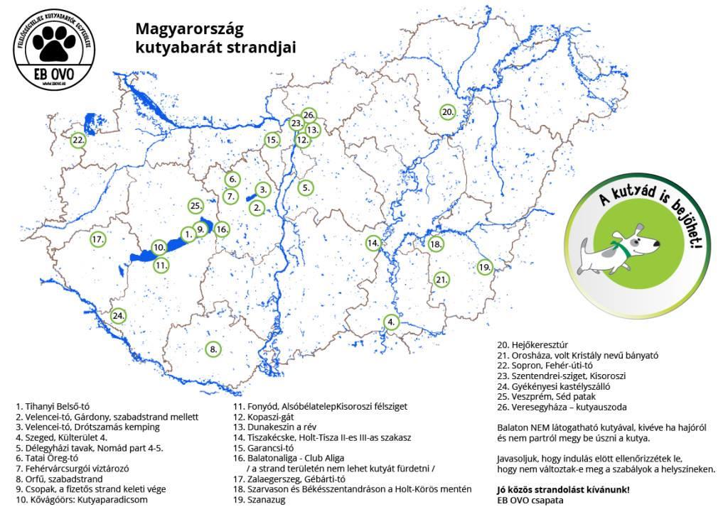 magyarország térkép orfű Kutyastrand! – Ebárvaház magyarország térkép orfű